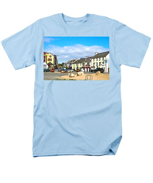 Donegal Town Men's T-Shirt  (Regular Fit) by Charlie and Norma Brock