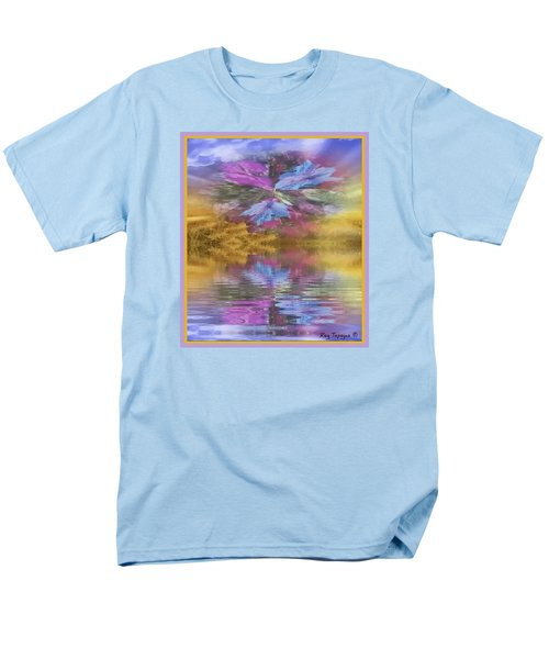 Men's T-Shirt  (Regular Fit) featuring the mixed media Dont Go Away by Ray Tapajna