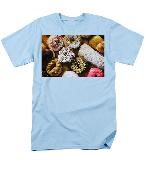 Men's T-Shirt  (Regular Fit) featuring the photograph Donuts by Vivian Krug Cotton