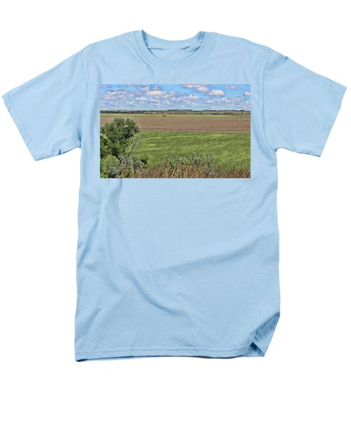 Down In The Valley Men's T-Shirt  (Regular Fit) by Sylvia Thornton