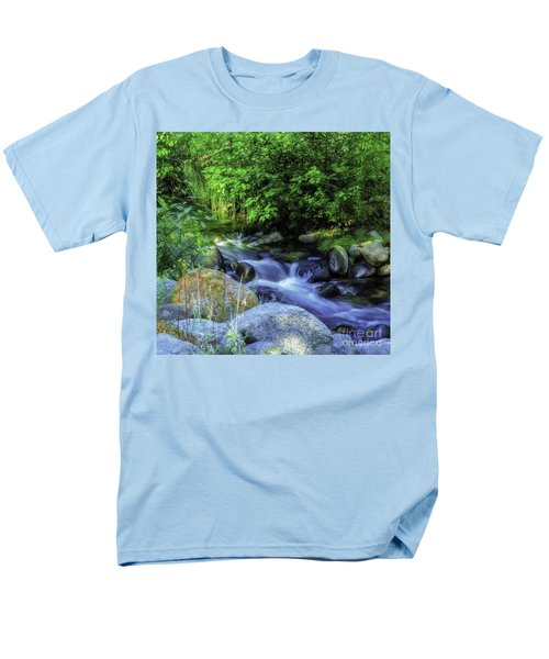 Down Stream Men's T-Shirt  (Regular Fit) by Nancy Marie Ricketts