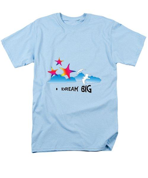 Dream Big Men's T-Shirt  (Regular Fit) by Judi Saunders