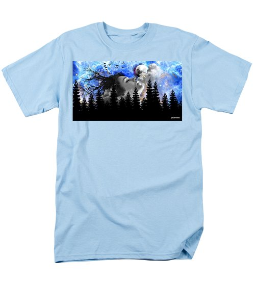 Dream Is The Space To Fly Farther Men's T-Shirt  (Regular Fit) by Paulo Zerbato