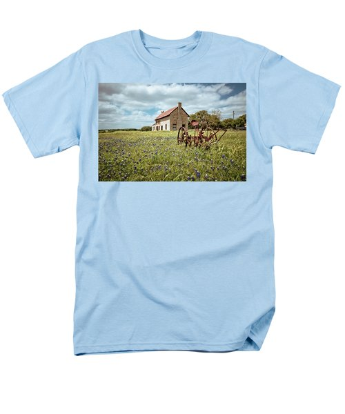 Men's T-Shirt  (Regular Fit) featuring the photograph Dreams Of Long Ago by Linda Unger