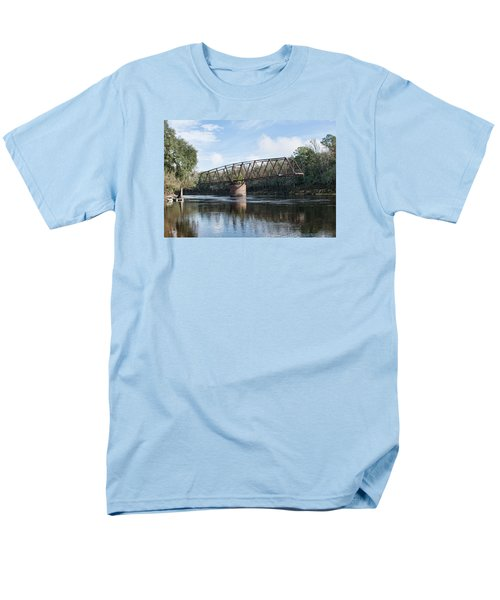 Drew Bridge Men's T-Shirt  (Regular Fit) by John Black