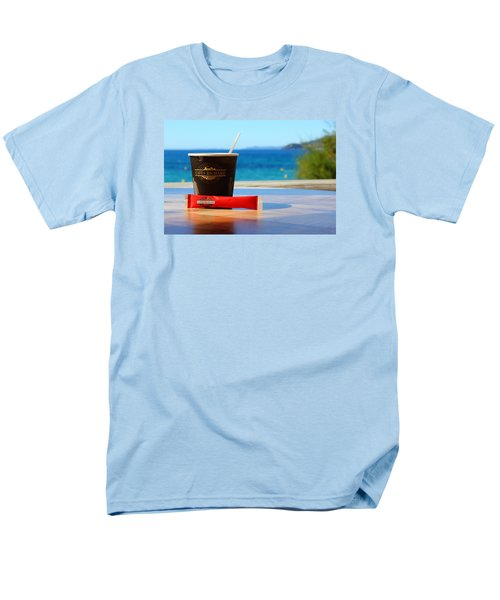 Men's T-Shirt  (Regular Fit) featuring the photograph Drink It In by Richard Patmore