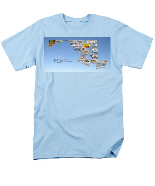 Driving Maryland Men's T-Shirt  (Regular Fit) by Jewels Blake Hamrick
