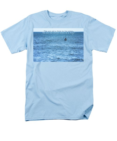 Drop In The Ocean Surfer  Men's T-Shirt  (Regular Fit) by Terry DeLuco