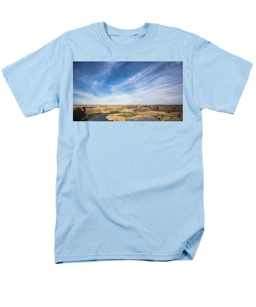Dry Fall, Washington Men's T-Shirt  (Regular Fit) by Jingjits Photography