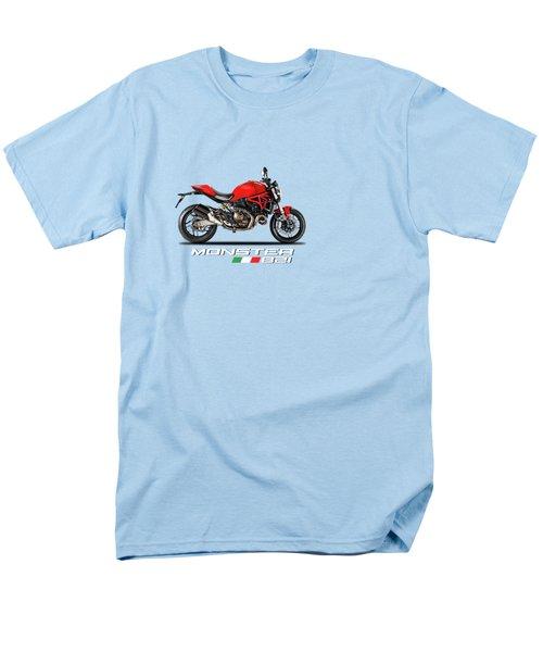 Ducati Monster 821 Men's T-Shirt  (Regular Fit) by Mark Rogan
