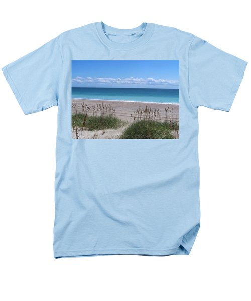 Men's T-Shirt  (Regular Fit) featuring the photograph Dunes On The Outerbanks by Sandi OReilly