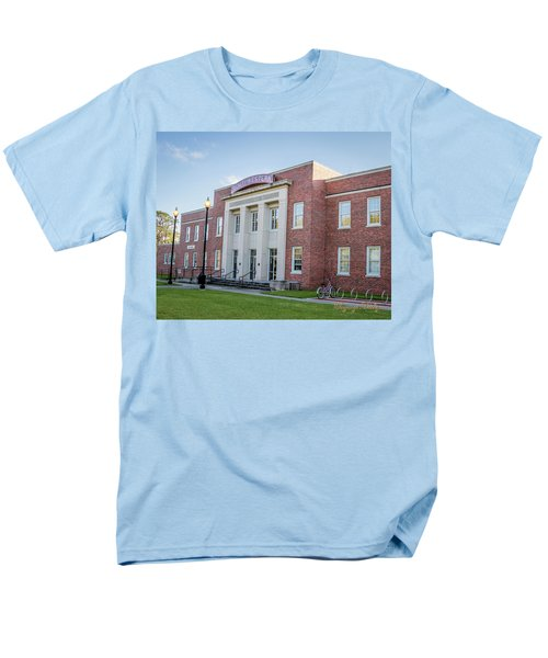 Men's T-Shirt  (Regular Fit) featuring the photograph E K Long Building by Gregory Daley  PPSA