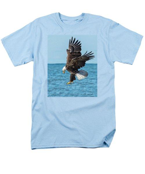 Eagle Dive Men's T-Shirt  (Regular Fit) by CR  Courson