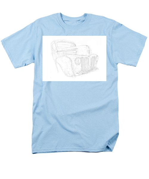 Early Ford Truck Men's T-Shirt  (Regular Fit) by Jeffrey Jensen
