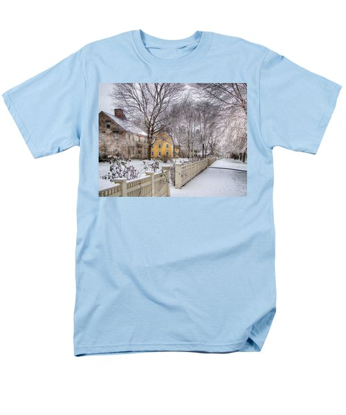 Early Massachusetts Men's T-Shirt  (Regular Fit) by Betsy Zimmerli