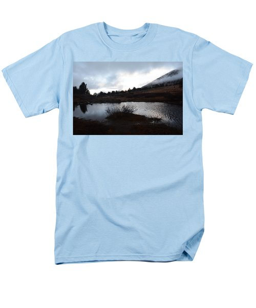 Men's T-Shirt  (Regular Fit) featuring the photograph Early Morning At Favre Lake by Jenessa Rahn