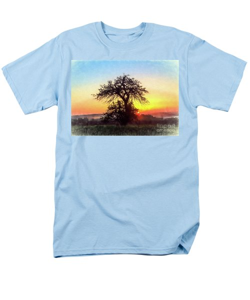 Men's T-Shirt  (Regular Fit) featuring the photograph Early Morning Sunrise by Jim Lepard