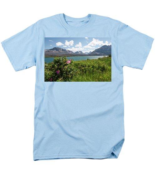 East Glacier National Park Men's T-Shirt  (Regular Fit)