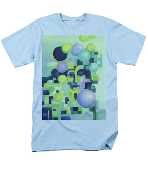 Men's T-Shirt  (Regular Fit) featuring the painting Ebbs by Karen Ilari