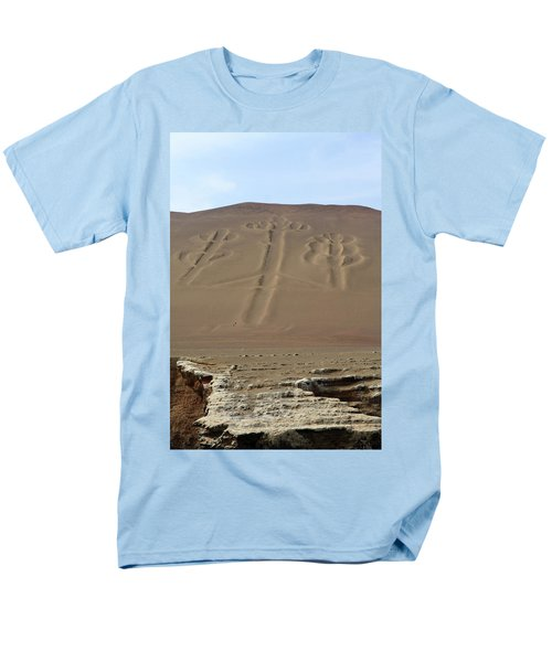 Men's T-Shirt  (Regular Fit) featuring the photograph El Candelabro by Aidan Moran