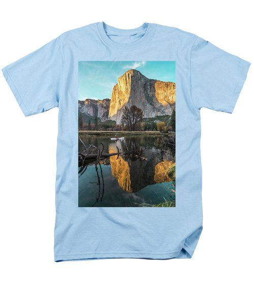 El Capitan Sunset Men's T-Shirt  (Regular Fit) by Alpha Wanderlust