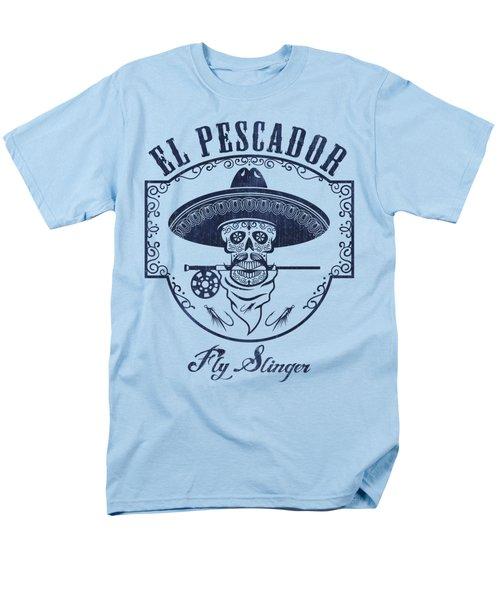 El Pescador Men's T-Shirt  (Regular Fit) by Kevin Putman