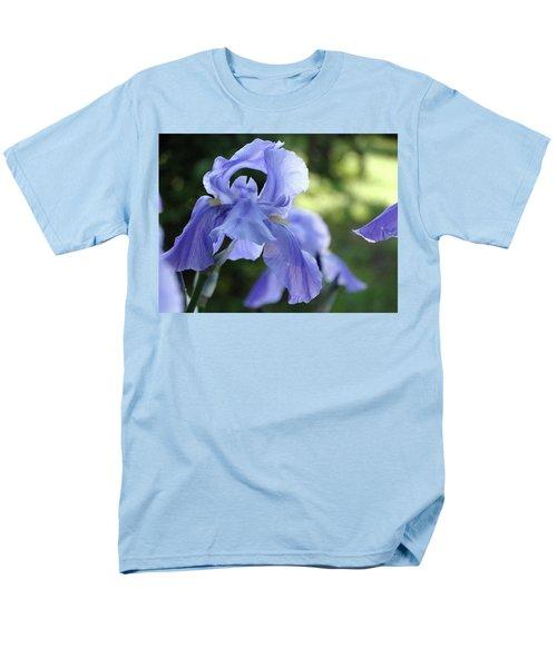 Elegant Iris In Spring Men's T-Shirt  (Regular Fit) by Rebecca Overton