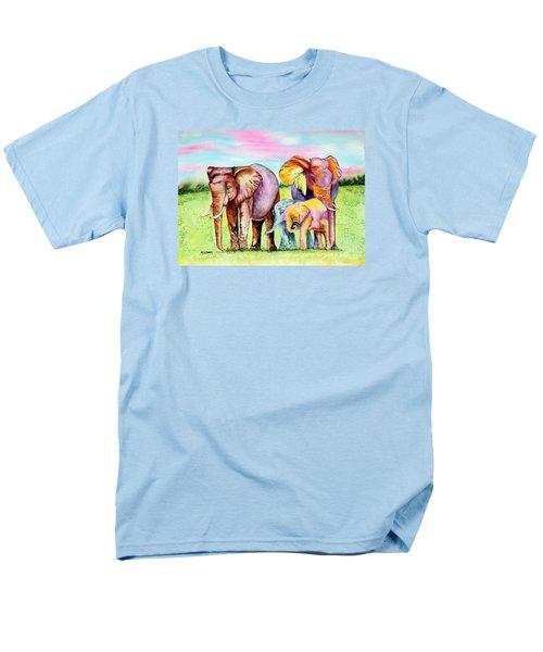 Elephant Aura Men's T-Shirt  (Regular Fit) by Maria Barry