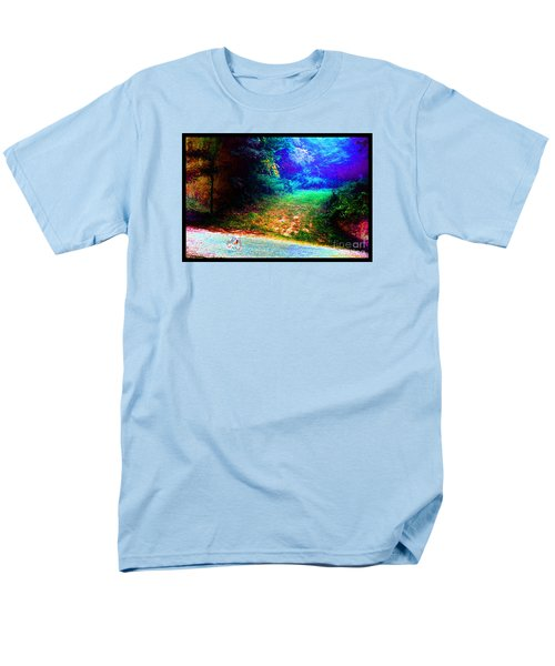 Men's T-Shirt  (Regular Fit) featuring the photograph Eleven Dimensions East by Susanne Still