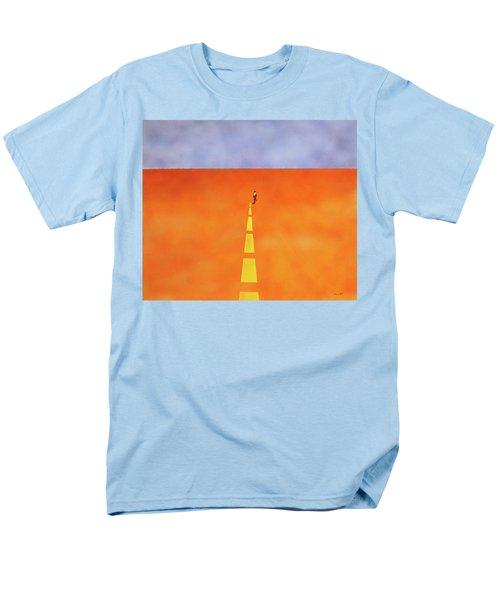 End Of The Line Men's T-Shirt  (Regular Fit)