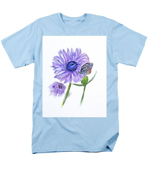 Erika's Butterfly Three Men's T-Shirt  (Regular Fit)