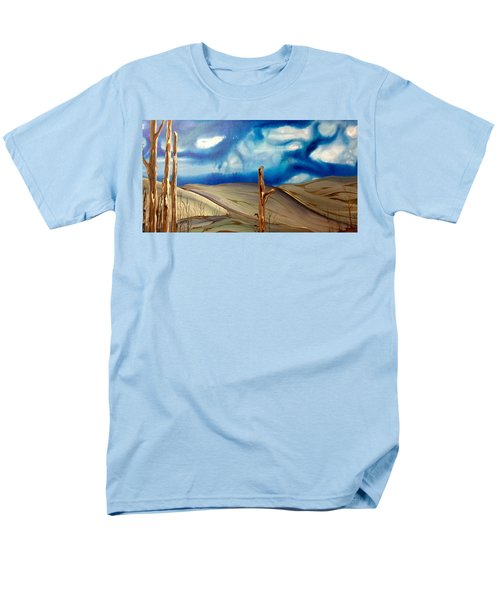 Men's T-Shirt  (Regular Fit) featuring the painting Escape by Pat Purdy