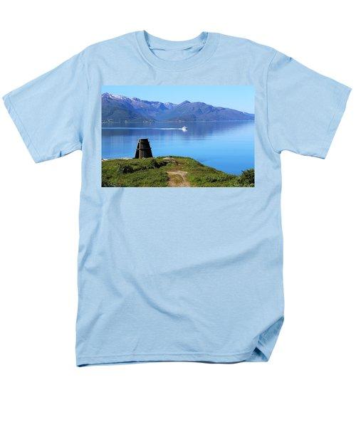 Evenes, Fjord In The North Of Norway Men's T-Shirt  (Regular Fit) by Tamara Sushko