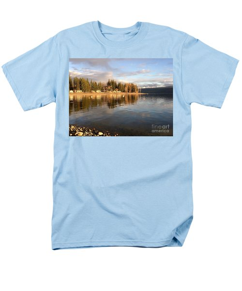 Evening By The Lake Men's T-Shirt  (Regular Fit) by Victor K