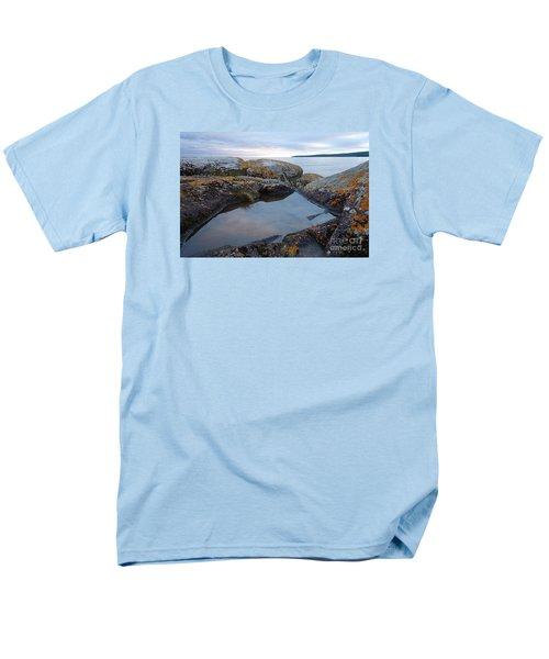 Men's T-Shirt  (Regular Fit) featuring the photograph Evening Reflections by Sandra Updyke