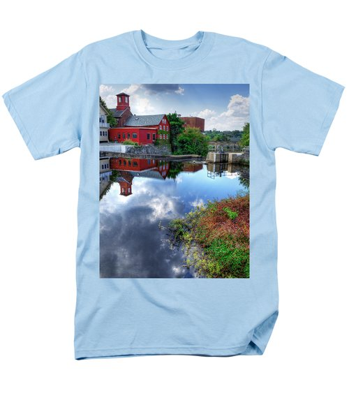 Exeter New Hampshire Men's T-Shirt  (Regular Fit) by Rick Mosher