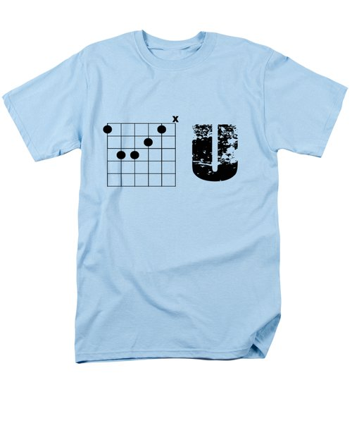 Men's T-Shirt  (Regular Fit) featuring the drawing F Chord U by Bill Cannon