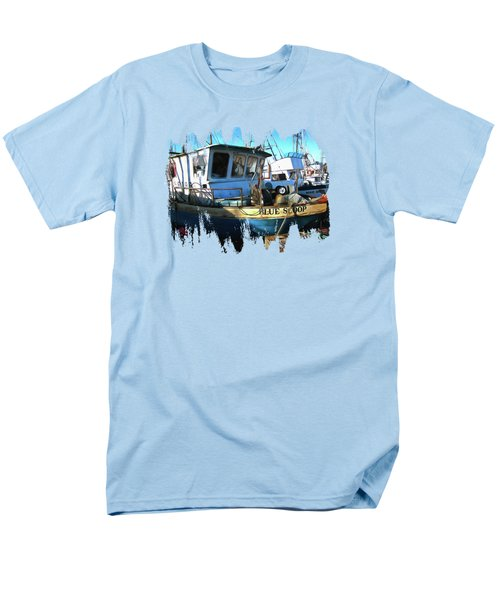 F/v Blue Scoop Men's T-Shirt  (Regular Fit) by Thom Zehrfeld
