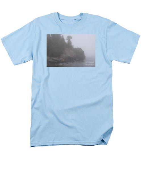 Men's T-Shirt  (Regular Fit) featuring the photograph Facing The Fog by Sandra Updyke