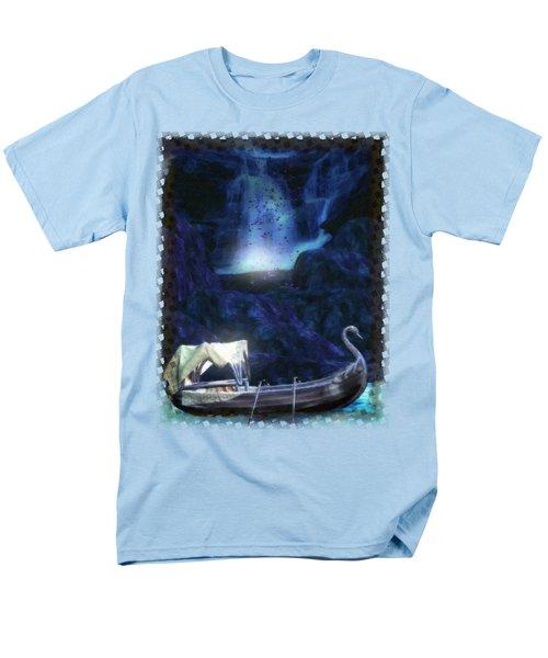 Faerie Cavern  Men's T-Shirt  (Regular Fit) by Sharon and Renee Lozen
