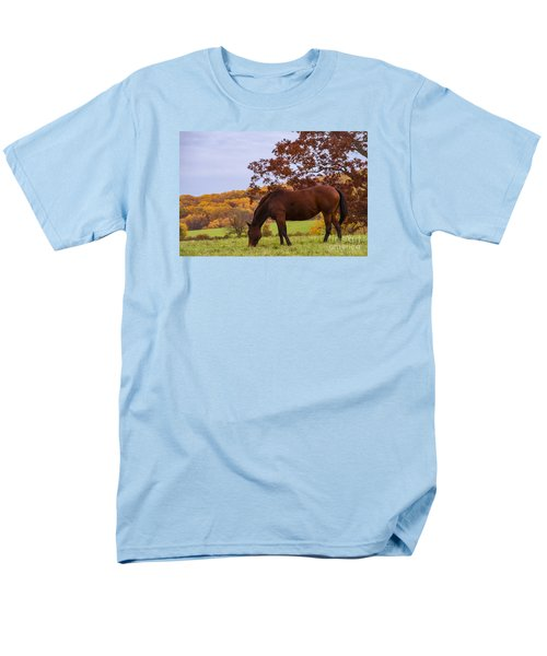 Fall And A Horse Men's T-Shirt  (Regular Fit) by Rima Biswas
