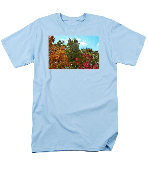 Men's T-Shirt  (Regular Fit) featuring the photograph Fall Colors by Nikki McInnes