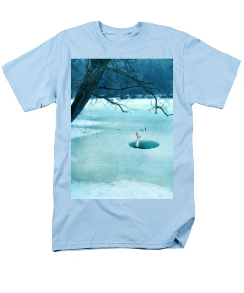 Fallen Through The Ice Men's T-Shirt  (Regular Fit) by Jill Battaglia