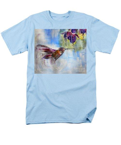 Fast Fuchsia Checkout Men's T-Shirt  (Regular Fit) by Lisa Kaiser