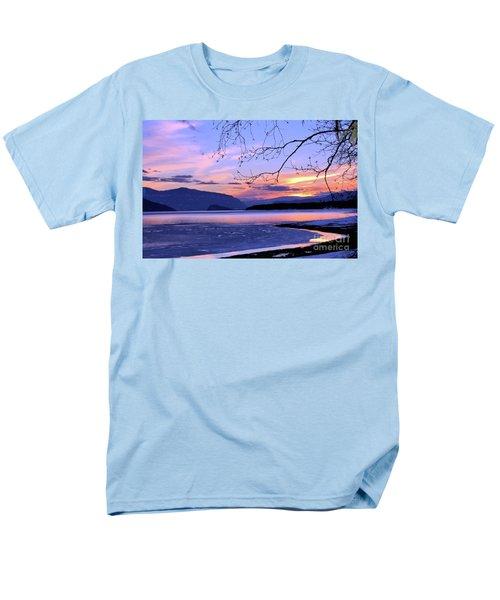 February Sunset 2 Men's T-Shirt  (Regular Fit) by Victor K