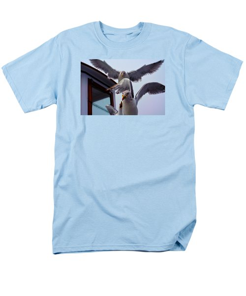 Men's T-Shirt  (Regular Fit) featuring the photograph Feeding Frenzy by Richard Ortolano