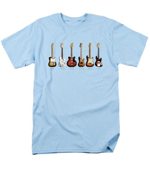Fender Guitar Collection Men's T-Shirt  (Regular Fit)