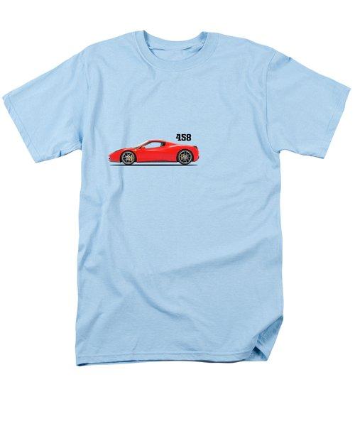 Ferrari 458 Italia Men's T-Shirt  (Regular Fit) by Mark Rogan