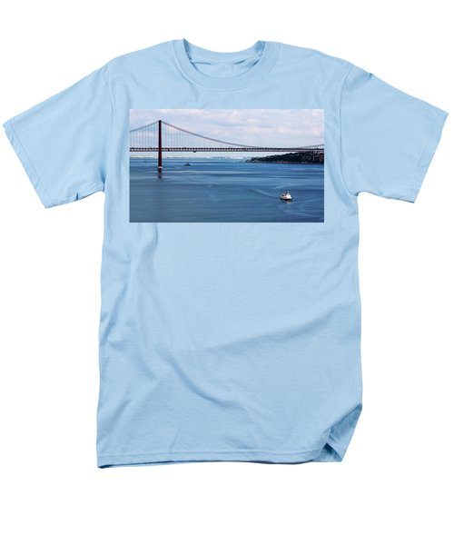 Ferry Across The Tagus Men's T-Shirt  (Regular Fit) by Lorraine Devon Wilke
