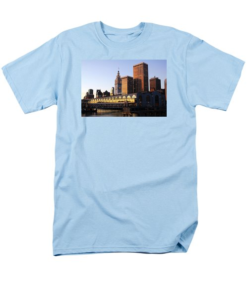 Ferry Building And San Francisco Men's T-Shirt  (Regular Fit)